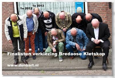 Finalisten verkiezing Bredaose Kletskop